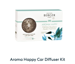 Maison Berger Car Diffuser-AROMA Happy
