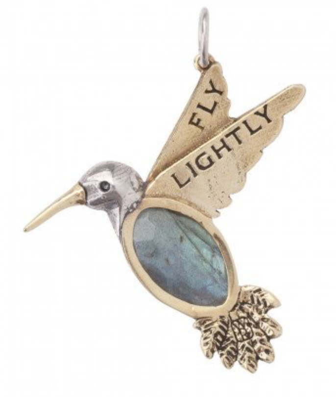 Fly Lightly Hummingbird-Waxing Poetic