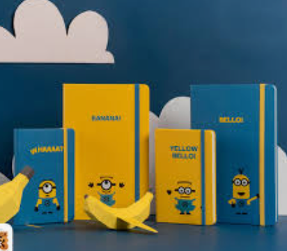 Moleskine Minion Journal