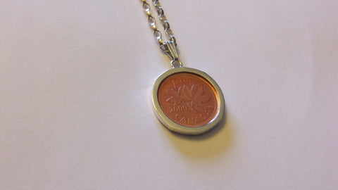 Canadian Lucky Penny Necklace