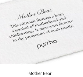 Pyrrha - Mother Bear Necklace