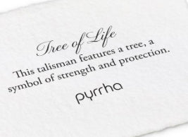 Pyrrha - Tree of Life Talisman Charm