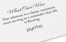 Pyrrha - What Once Was... Talisman