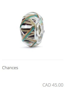 Trollbeads - Chances Glass Bead