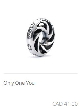 Trollbeads - Only One You Silver Bead
