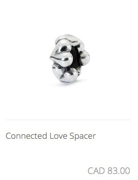Trollbeads - Connected Love Spacer