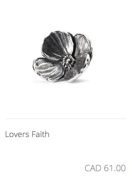 Trollbeads - Lovers Faith Charm