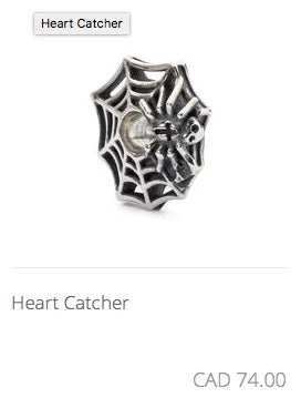 Trollbeads - Heart Catcher Charm