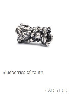 Trollbeads - Blueberries of Youth
