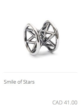 Trollbeads - Smile of Stars