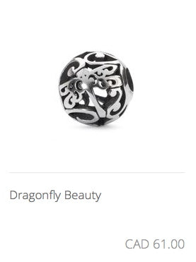 Trollbeads - Dragonfly Beauty