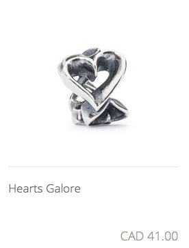 Trollbeads - Hearts Galore