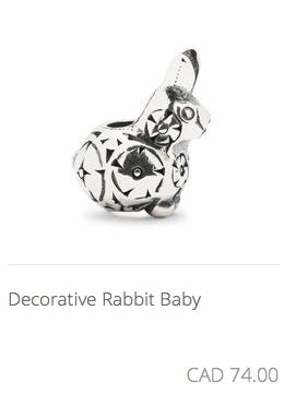 Trollbeads - Decorative Baby Rabbit