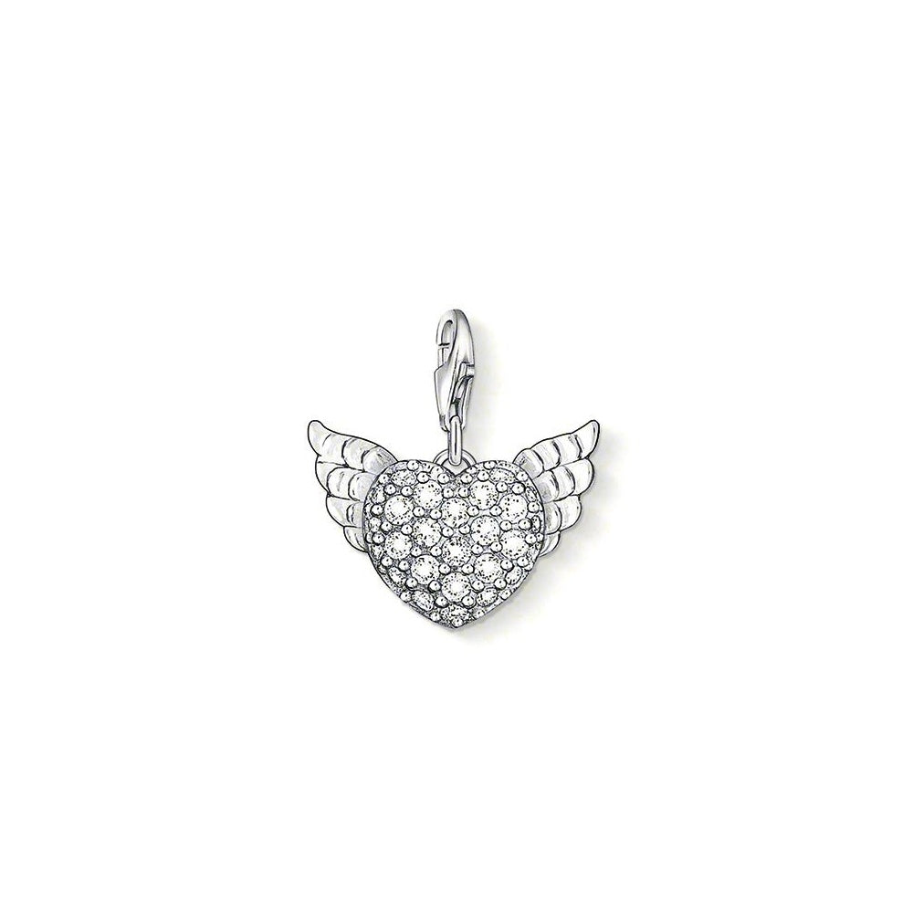 Thomas Sabo - Angel Heart Wing CZ Charm