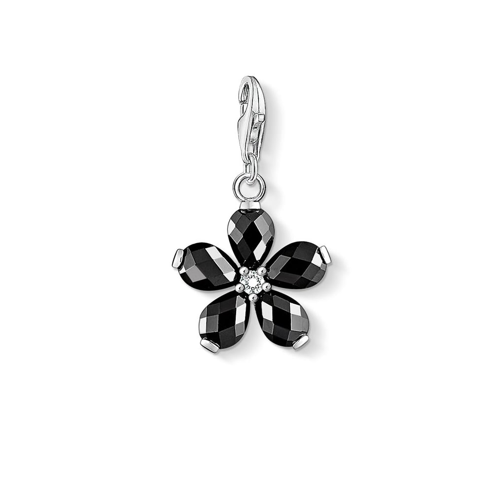 Thomas Sabo - Black Fancy Flower