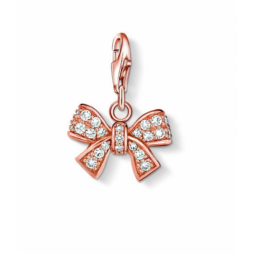 Thomas Sabo - Rose Gold Bow Charm