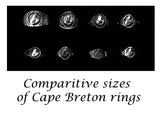 R-482A Men's Cape Breton ring silver