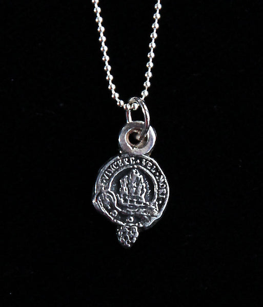 P-800  MacNeil Family Crest Pendant, extra small