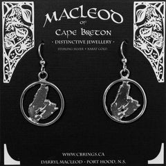 E-401B Cape Breton Map Wire Frame