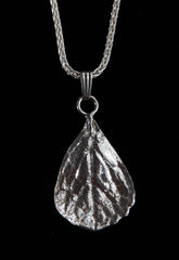 P-203B Medium Mexican Oregano Leaf Pendant