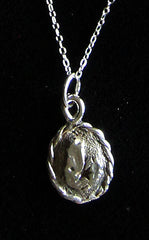 P-019 Cape Breton pendant with Twisted Frame