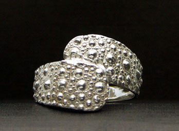 R-351A Sea Urchin Wrap Ring