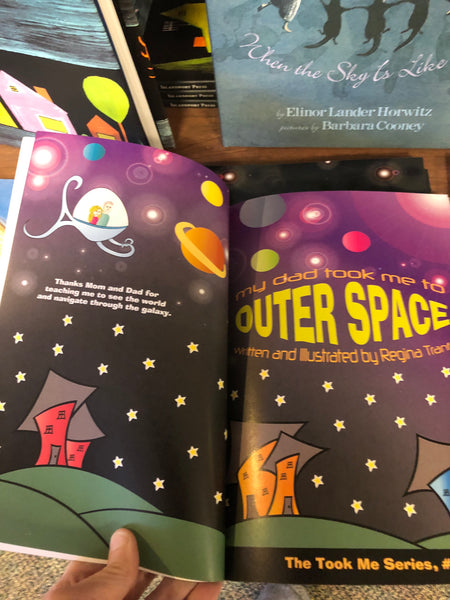 "New ""out of this world"" childrens' book lands at A Little Something in South Berwick, Maine."