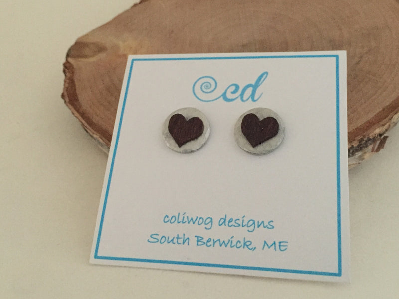 You asked for it...you got it! New stamped post earrings from coliwog designs.