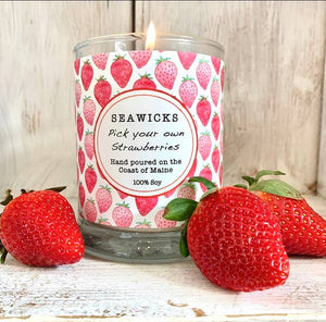 Seawick Candles from Maine