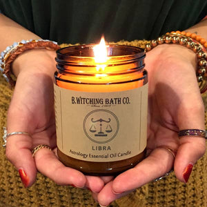 Astrology Essential Oil Candles