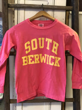 Load image into Gallery viewer, Youth South Berwick Long Sleeve Port & Co Tee
