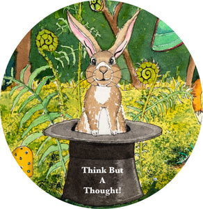 "3"" Vinyl Stickers - Think But A Thought!"