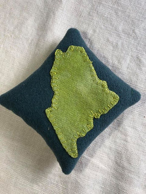 Maine Balsam Pillows - Hand Appliqued by Ann MacEachern
