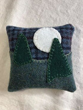Load image into Gallery viewer, Maine Balsam Pillows - Hand Appliqued by Ann MacEachern