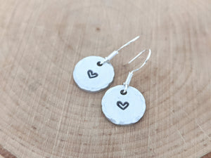 Petite Round Earrings - Coliwog Designs ( South Berwick, Maine)
