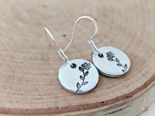 Load image into Gallery viewer, Petite Round Earrings - Coliwog Designs ( South Berwick, Maine)