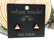 Load image into Gallery viewer, Post Earrings by whee made! (North Berwick, Maine)