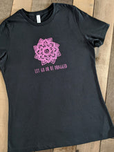 Load image into Gallery viewer, Let Go Or Be Dragged Women's Inspirational Tees - Coliwog Design