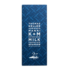 K+M Extravirgin Ecuador Milk Chocolate, The French Laundry 25th Anniversary Edition