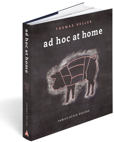 Ad Hoc at Home Cookbook - Signed by Chef Keller