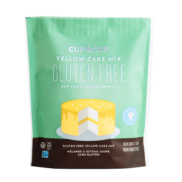 Cup4Cup Gluten-Free Yellow Cake Mix