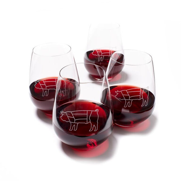 Ad Hoc Wine Tumbler - Set of 4