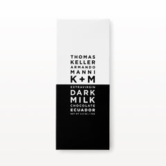 K+M Extravirgin Dark Milk Chocolate:  Ecuador