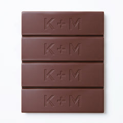 K+M Single-Origin Chef's Bar: 53% Waslala Dark Milk