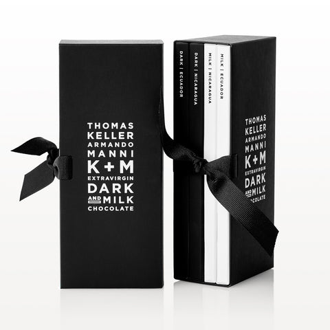 K+M Extravirgin Milk Chocolate Gift Box