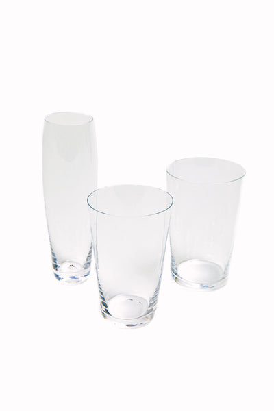 crystal glassware by Deborah Ehrlich