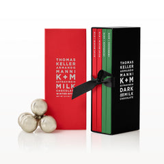 K+M Extravirgin Chocolate Winter Four-Pack Gift Box