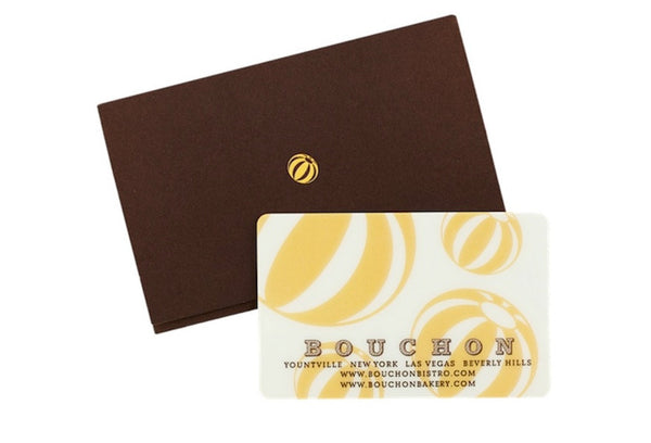 Bouchon and Bouchon Bakery Gift Card