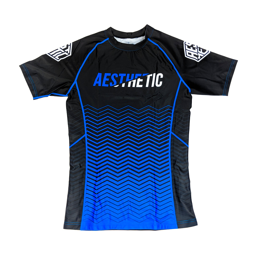 2019 RANKED RASHGUARD - BLUE