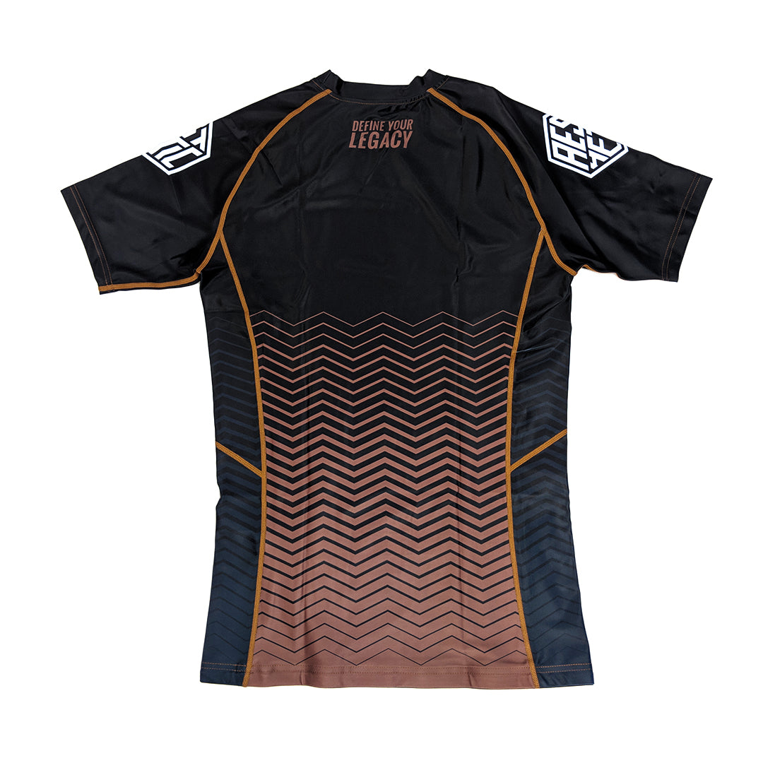 2019 RANKED RASHGUARD - BROWN
